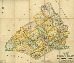 Pennsylvania County Map by Welcome To Delaware County Pa History