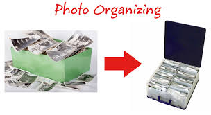 organzing photo organizing and scanning