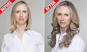 wigs for women with thinning hair thinning hair try half a wig daily mail online