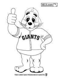 stomper coloring pages oakland u0027s mascot preschool 2015