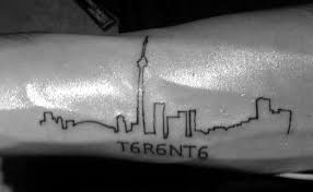 blog garish toronto skyline tattoo draws online criticism