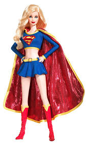 halloween barbie amazon com 2008 barbie collector doll silver label supergirl doll