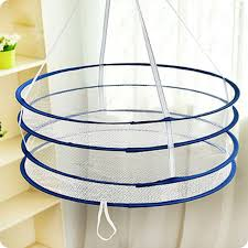 sweater drying rack layer drying rack folding hanging clothes laundry basket