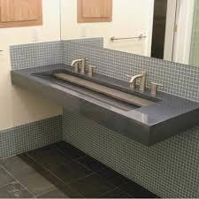 bathroom trough sink undermount best of undermount trough bathroom