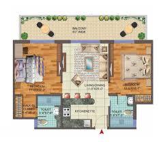 Central Park Floor Plan by Central Park 3 Floor Plan Flower Valley Gurgaon Sohna Road