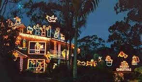 Outdoor Christmas Decorations In Australia by Christmas In Australia