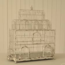 large decorative bird cage birthday decoration