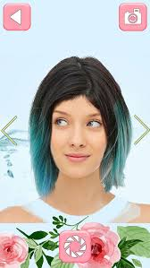 virtual hair colour changer ombre hairstyle makeover hair color change r in a virtual hair