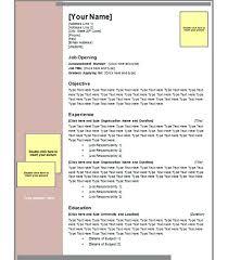 resume template microsoft word u2013 inssite