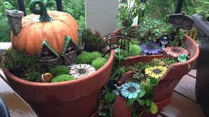 broken pots turned into brilliant fairy gardens youtube