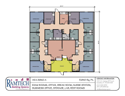 Office Floor Plan Template Modular Medical Building Floor Plans Healthcare Clinics Offices