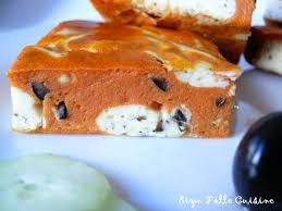 eryn et sa folle cuisine carrés fondants tomates olives noires en cheesecake ricotta