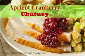 apricot cranberry chutney recipe 12daysof thanksgiving