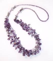 crochet beads necklace pattern images Free bead crochet tutorials bracelet beaded headband wire jpg