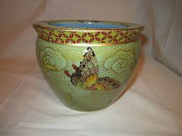 large chinese fish bowl butterfly new 6