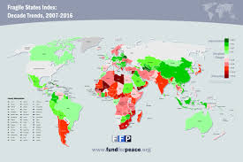 State Abbreviations Map by Fragile States Index Map U2013 Atlantic Sentinel