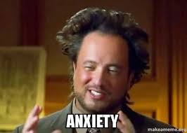 Make A Meme Aliens - anxiety ancient aliens crazy history channel guy make a meme