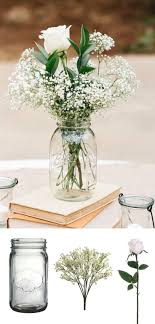 jar flower centerpieces best 25 jar flower arrangements ideas on
