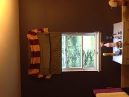 gryffindor scarf valance window treatment harry potter themed
