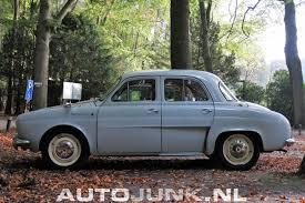 1961 renault dauphine renault dauphine foto u0027s autojunk nl 206784