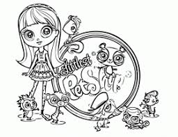 littlest pet shop coloring sheets free coloring sheet coloring