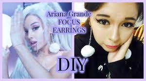 grande earrings grande focus earrings diy