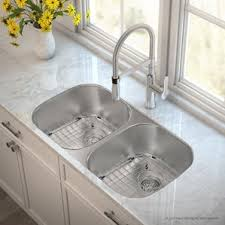 Stainless Steel Kitchen Sinks Youll Love Wayfair - Stainless steel undermount kitchen sinks