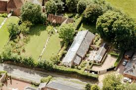 rescued from ruin a 19th century greenhouse becomes a modern aerial view