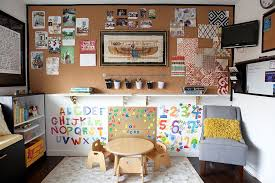 Home Craft Room Ideas - multipurpose magic creating a smart home office and playroom combo
