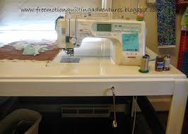 Quilting Cutting Table by Sewing Table At Level For Quilting Bigger Projects On A Small