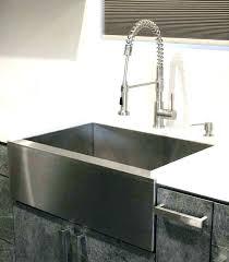 stainless steel apron sink kohler 30 inch farm sink stainless steel apron sink inch stainless