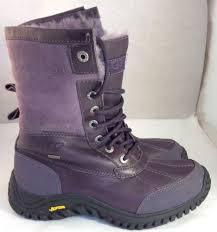 womens boots vibram sole s ugg australia purple adirondack ii 2 event vibram sole