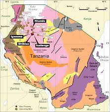 Map Of Tanzania News Sikaresources Com Going For Gold In Tanzania