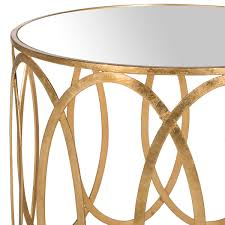 gold accent table end tables safavieh com