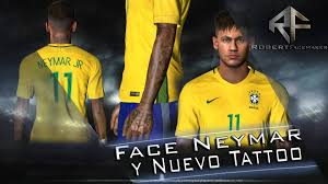 pes 2017 neymar tattoo by robert facemaker pes patch