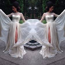 1920 style wedding dresses discount vintage 1920 inspired wedding dresses sheer lace high