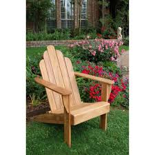 furniture green painted teak adirondack chair with small outdoor