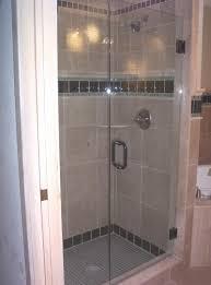 backyards framed frameless glass shower doors options ideas