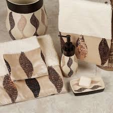 shimmer sequin ribbon bath towel set