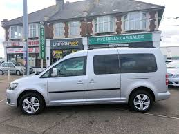 used silver vw caddy maxi for sale essex