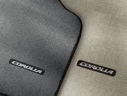 floor mats for toyota corolla buy toyota corolla accessories genuine factory accessories for