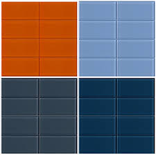 periwinkle glass subway tile modwalls lush 3x6 tile modwalls tile