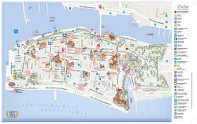 Zagreb Map Travel Information You Need To Arrange Your Own Transport To Zadar