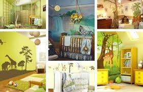 décoration jungle chambre bébé chambre garcon jungle contemporain couleur chambre bebe tendance