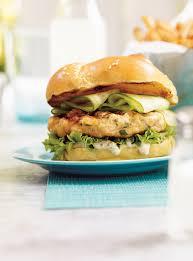cuisiner un hamburger burgers de saumon ricardo