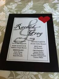 diy wedding ceremony programs wedding program panel with and black border by renaissance