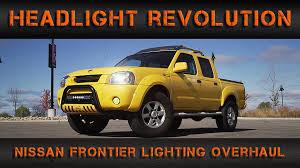 nissan frontier interior mods nissan frontier lighting overhaul headlight revolution youtube