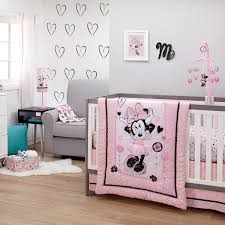 Baby Minnie Mouse Crib Bedding Set 5 Pieces by Minnie Mouse Hello Gorgeous Crib Bedding Set Shopdisney
