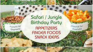 jungle themed birthday party how to organize a birthday party on a budget archives s kitchen