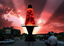 world s largest lava l 50 ft tall lava l any publicity is good publicity
